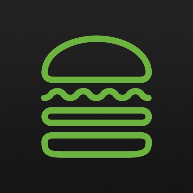 icons on iphone shake shack on the app 3320