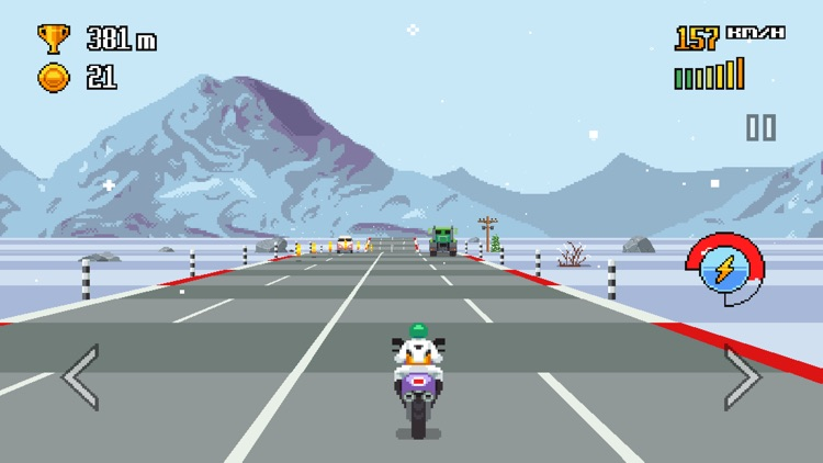 Retro Highway screenshot-1