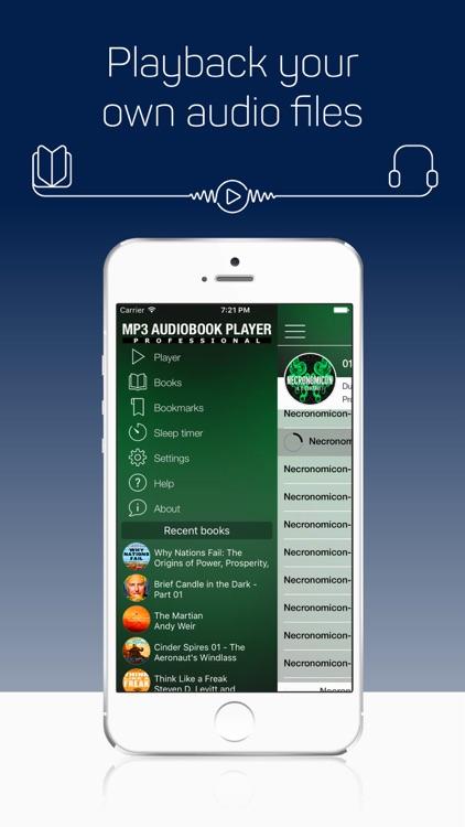 MP3 Audiobook Player Pro screenshot-3