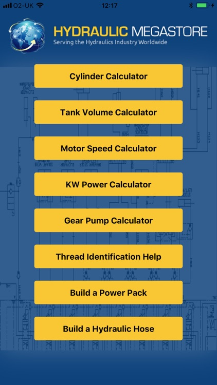 Hydraulic Megastore Calculator