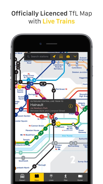 Ride - London Tube Tracker screenshot-0