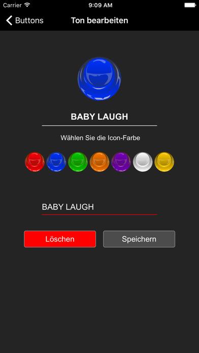 Instant Buttons Deutsch