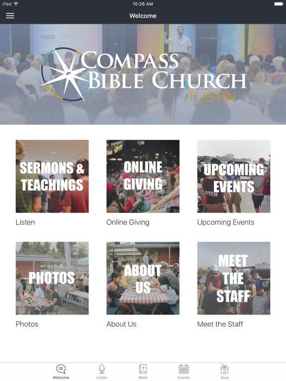 Compass Bible Church Tustin screenshot 4