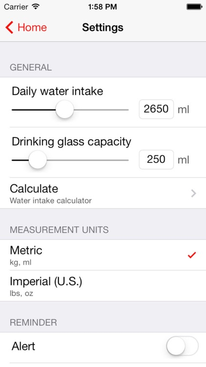 WaterTrakr // The Water Intake Tracker