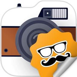 Crazy Camera Stickers!
