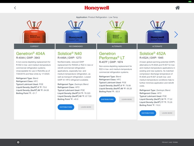 Refrigerant Selection Tool on the App Store