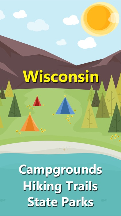 Wisconsin Camping&State Parks screenshot-0