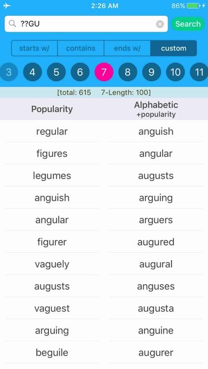 Anagrams - Unscramble Words screenshot-4
