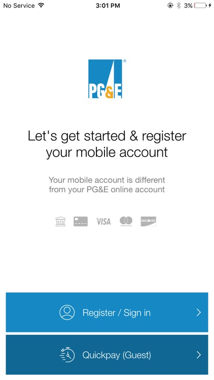 PG&E Mobile Bill Pay