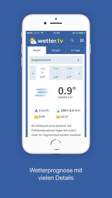 wetter.tv App Deutschlandのおすすめ画像1