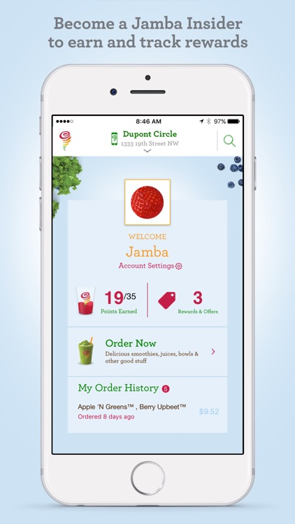 Jamba Juice screenshot-1