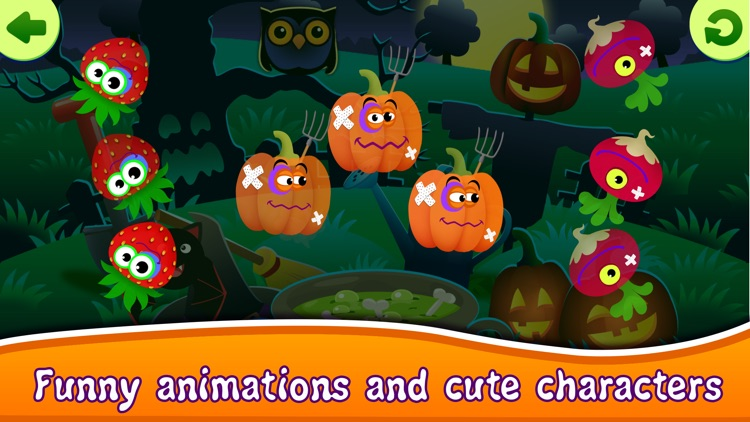 Halloween Kids Toddlers Games screenshot-3