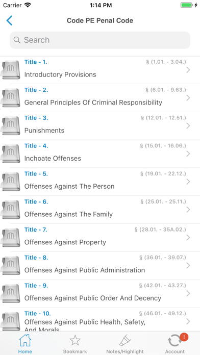PA Crimes Offenses Title 18 screenshot two
