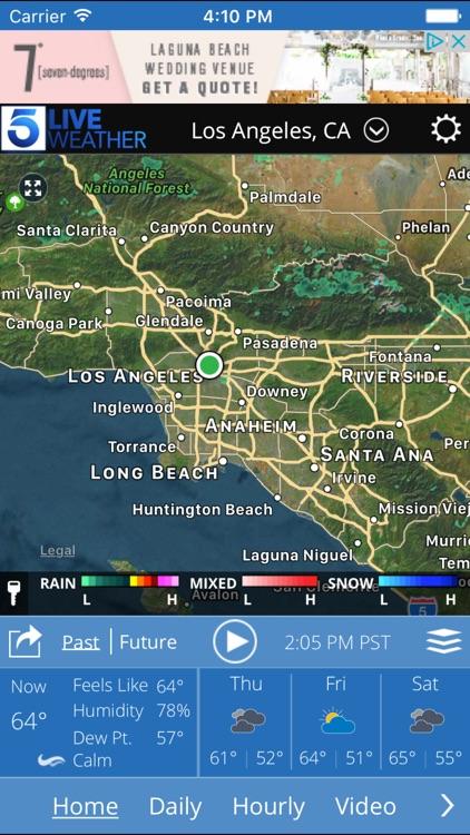 KTLA Los Angeles Weather