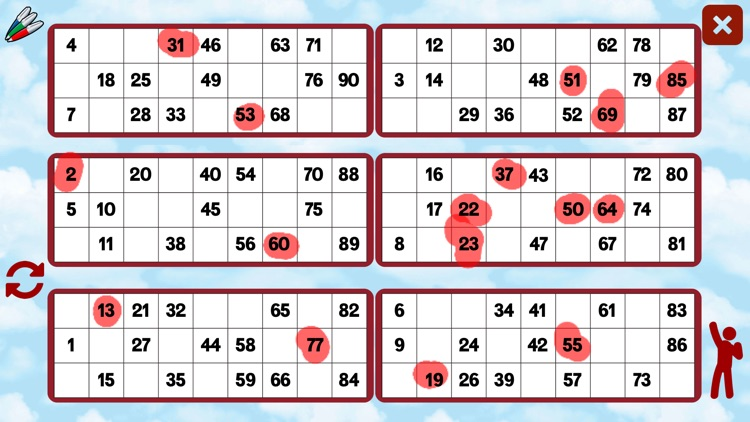 90 Ball Bingo Caller screenshot-3