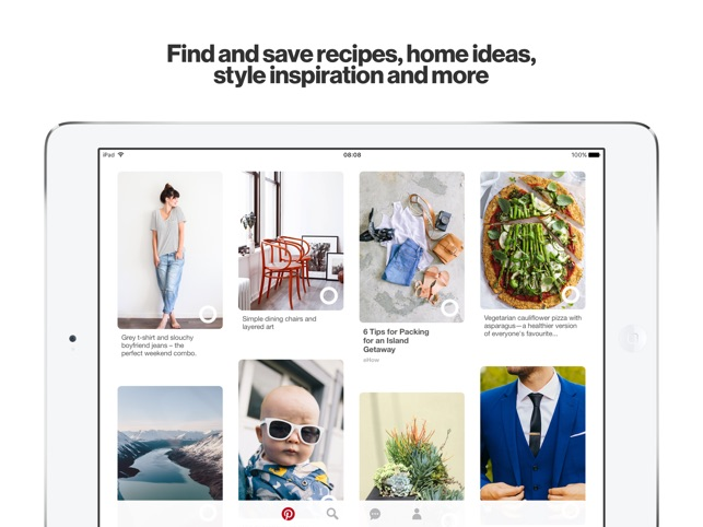 Pinterest: Lifestyle Ideas Screenshot