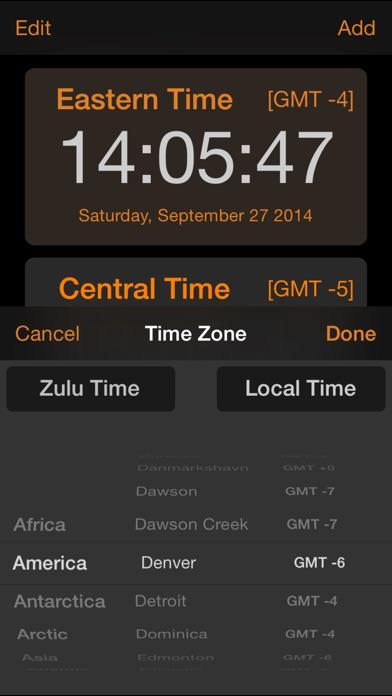Zulu Time review screenshots