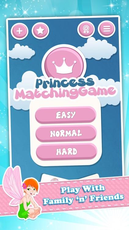 Matching family game: Princess screenshot-4
