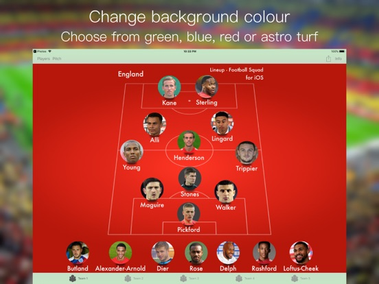 Lineup - Football Squad Screenshots
