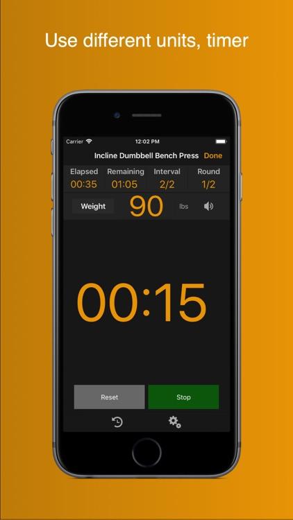 Gym Horn: Workout Log Tracker screenshot-4