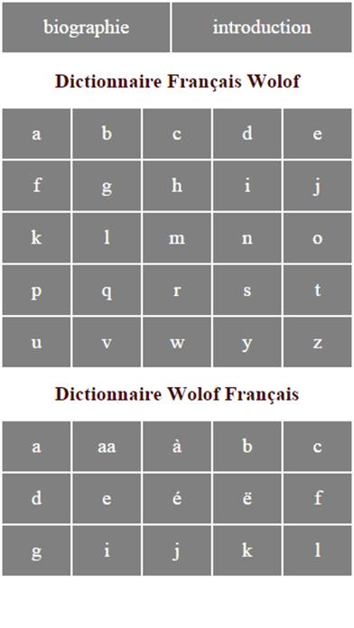 Dictionnaire Français Wolofのおすすめ画像1