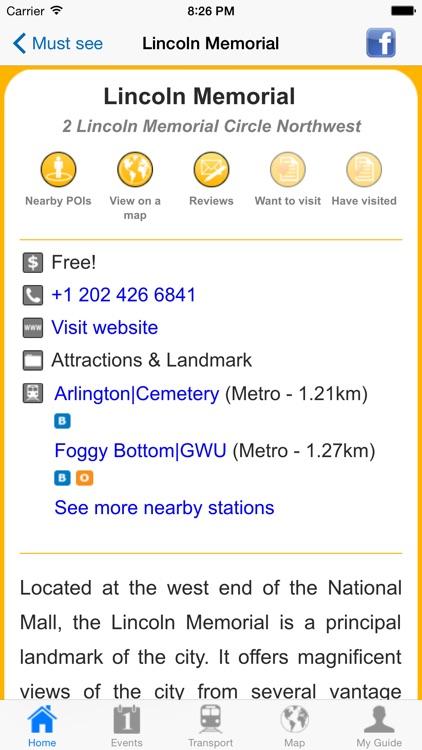Washington DC Offline Guide screenshot-4