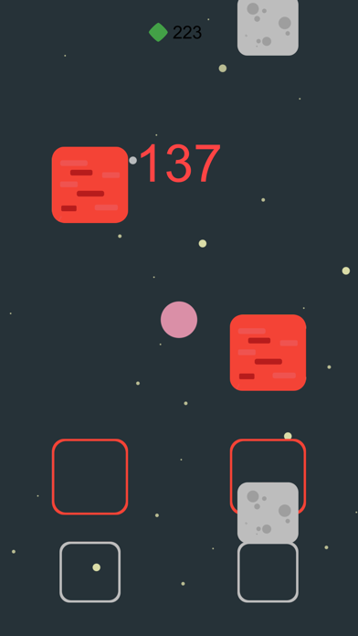 Falling Squares the Game screenshot one