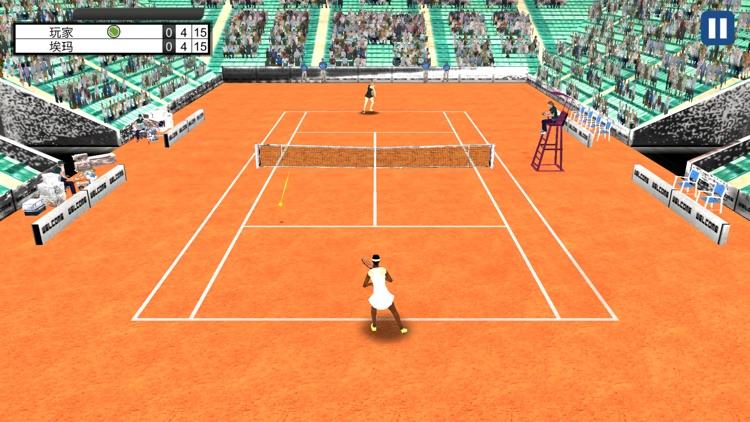 Tennis Mania 3D screenshot-3