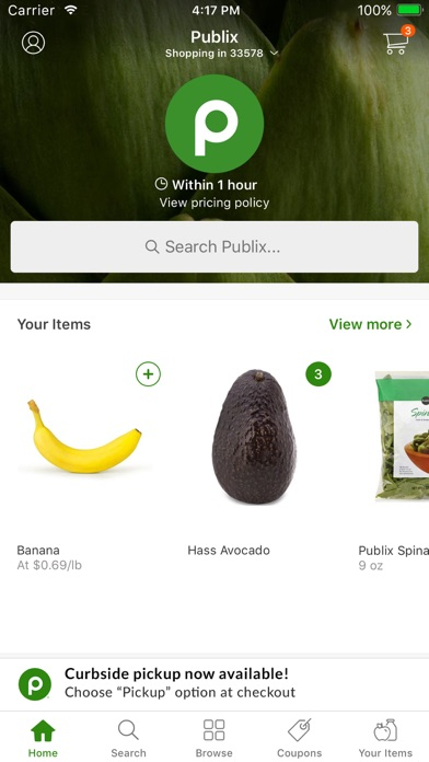Publix Delivery for Windows