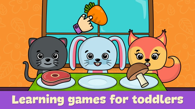 Toddler games for girls & boys screenshot-0