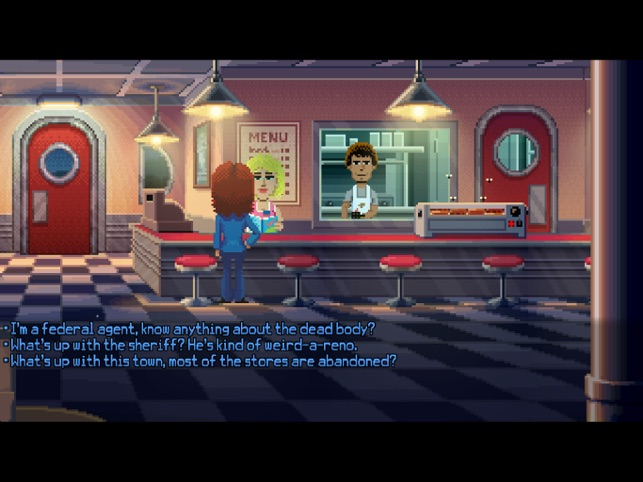 ‎Thimbleweed Park Screenshot