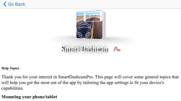 Smart Dashcam Pro screenshot-6