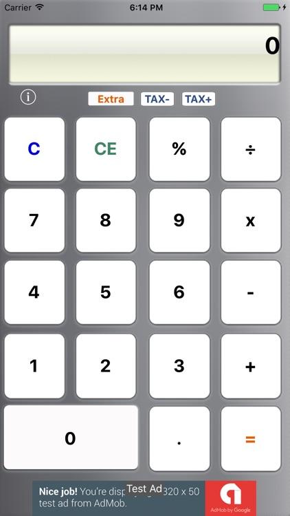 Extra-Plus Calculator  Lite
