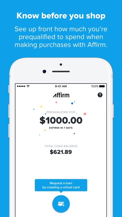Affirm: A better way to pay