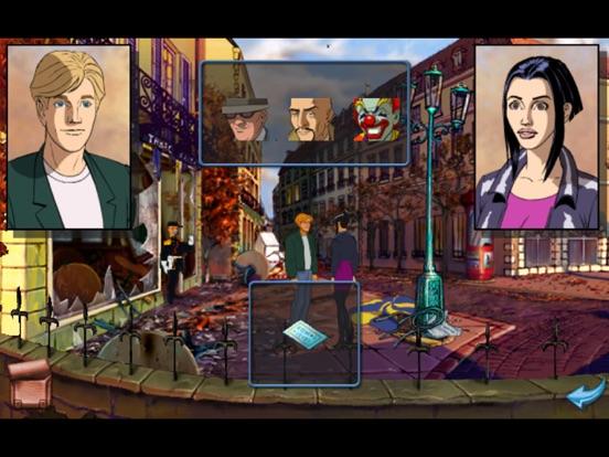 Broken Sword 1 : Расширенное на iPad