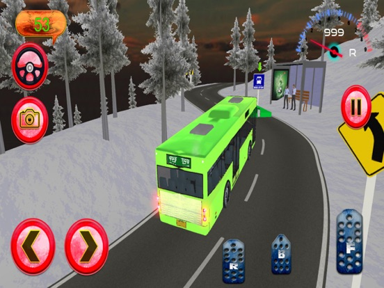 Hill Bus Driver 3d 2017 Mania screenshot 6