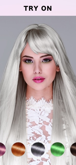Fabby Look Hair Color Editor On The App Store