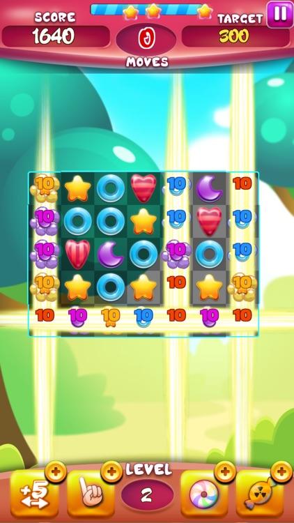 Sweet Candy: Match 3 Game 2018 screenshot-3