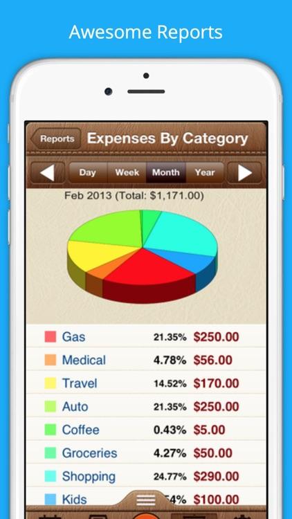Easy Expenses Tracker screenshot-3