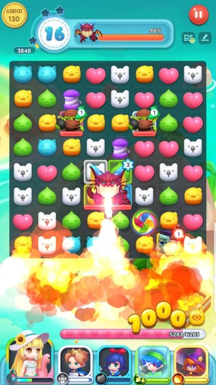 퍼즐와르르 screenshot-5