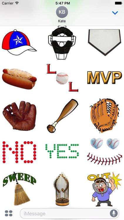 Cleveland Baseball Stickers screenshot-4