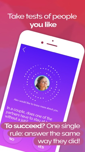 Test dating app