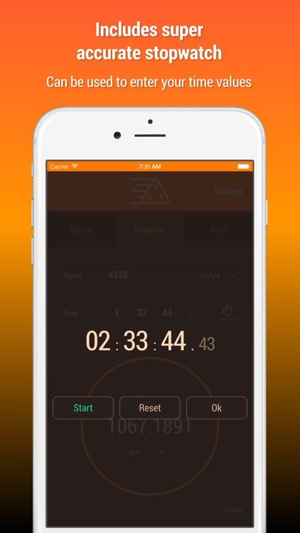 Speed Distance Time Calculator screenshot-3