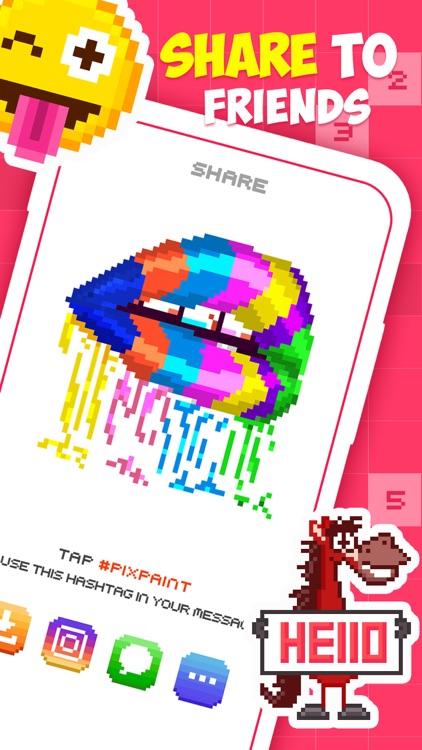 PixPaint - Number Coloring screenshot-3