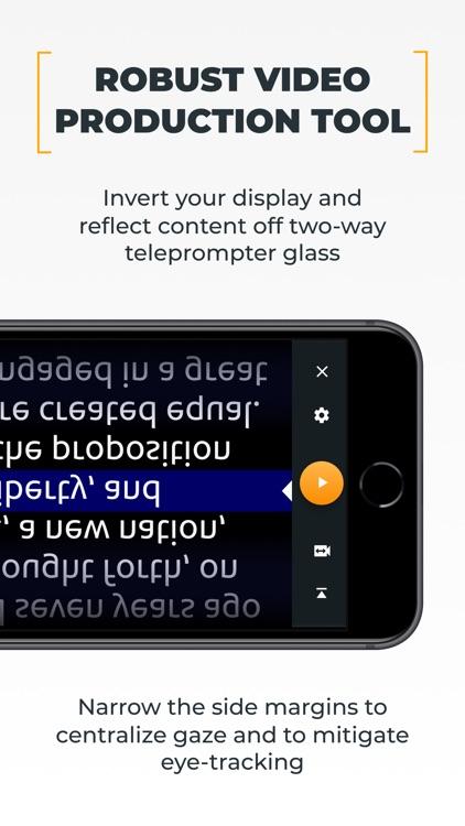 PromptSmart Pro - Teleprompter screenshot-4