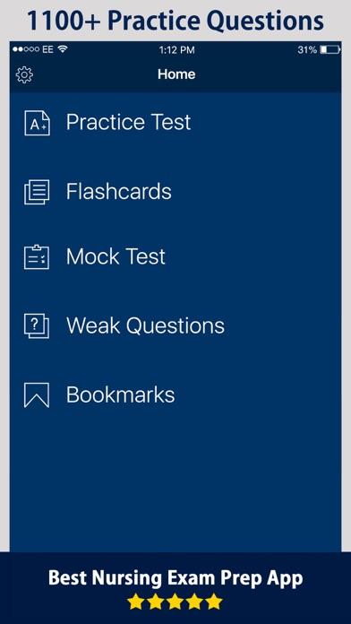 Nursing Exam Prep 2017 screenshot one