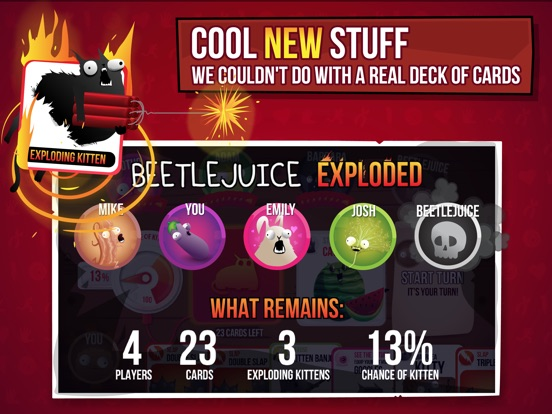 Exploding Kittens® Screenshots