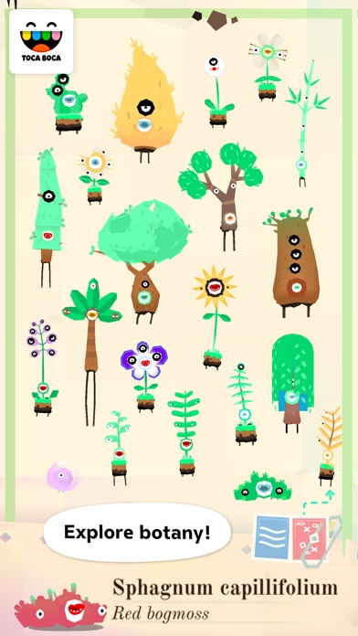 Screenshot for Toca Lab: Plants in United States App Store