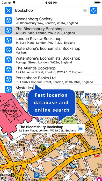 Central London A-Z Street Map screenshot-4