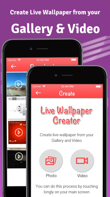 Iphone live wallpaper maker app